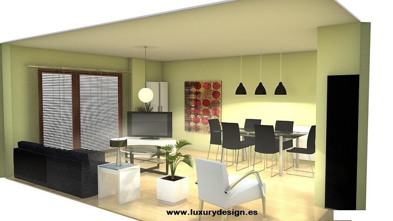 Proyectos de decoraci n un sal n singular empresa - Muebles a medida salamanca ...